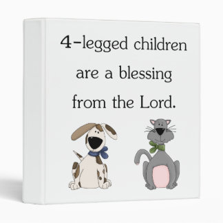 4-legged children are a blessing (pic) binders