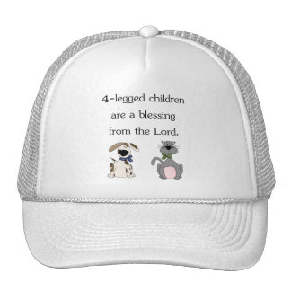 4-legged children are a blessing (pic) hats