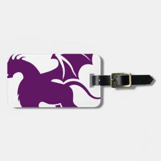 4 legged dragon luggage tag