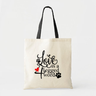 4 Legged Love Tote Bag