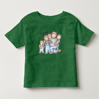 4 Little Buddies with their Big Buddy! Toddler T-shirt