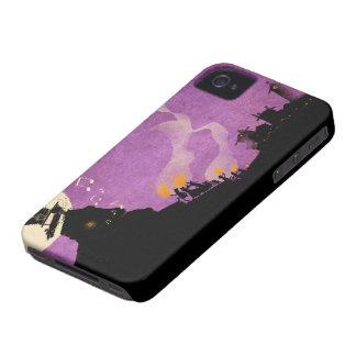 4 Little Monsters - Halloween Night iPhone 4 Cases