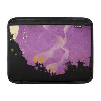 4 Little Monsters - Halloween Night MacBook Sleeves