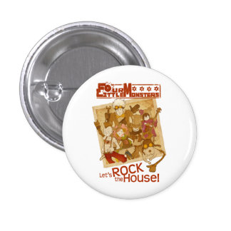 4 Little Monsters - Let s Rock the House Pin