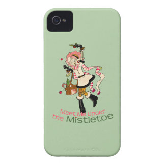 4 Little Monsters - Nessa Holiday iPhone 4 Case-Mate Cases