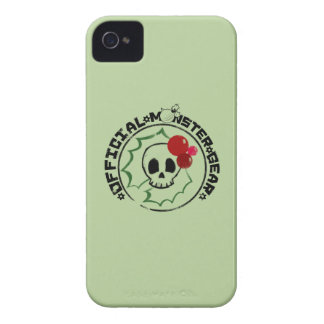 4 Little Monsters - Nessa Holiday Logo 2 iPhone 4 Cover
