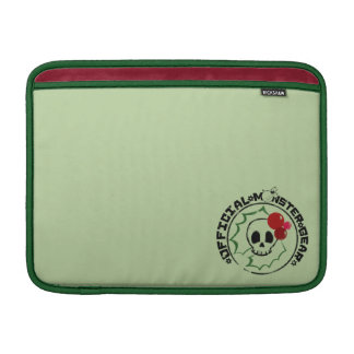 4 Little Monsters - Nessa Holiday Logo 2 MacBook Air Sleeve