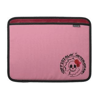 4 Little Monsters - Nessa Holiday Logo MacBook Sleeve