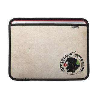4 Little Monsters - Nigel Holiday Logo 2 MacBook Air Sleeves