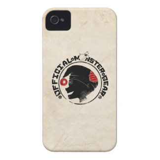 4 Little Monsters - Nigel Holiday Logo iPhone 4 Cover