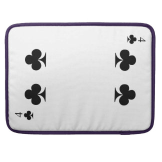 4 of Clubs Sleeve For MacBooks