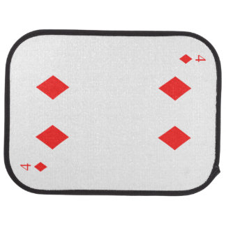 4 of Diamonds Car Carpet