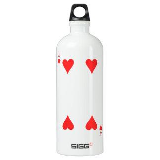 4 of Hearts Water Bottle