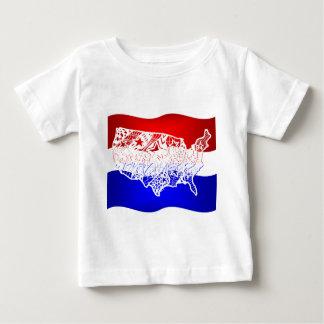 4 of July- USA Baby T-Shirt