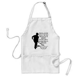 4 Out Of 5 Voices In My Head Think You're An Idiot Standard Apron