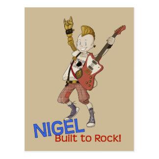 4 petits monstres - Nigel Cartes Postales