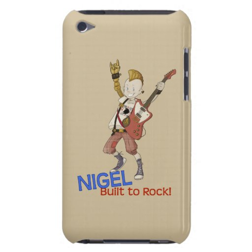 4 petits monstres - Nigel Coque iPod Touch