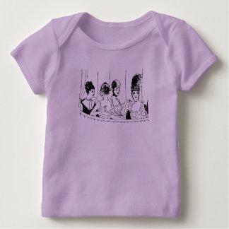 4 Pretty Vintage Ladies Baby T-Shirt