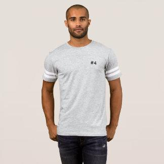 #4 range - american football t-shirt