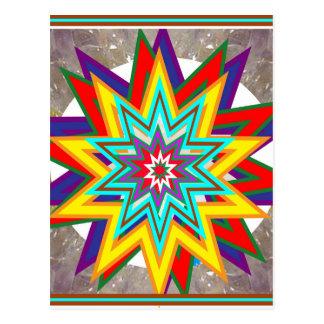 4 Sale Karuna Reiki Healing Symbol art Gifts Postcard