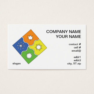 4 seasons business card