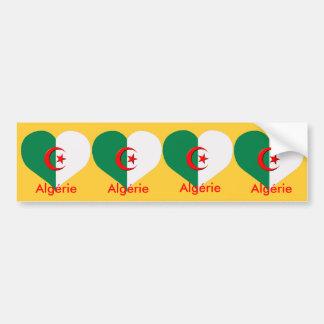 4 stickers carosserie automobile  algerie algeria