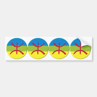 4 stickers carosserie automobile berbere amazigh bumper sticker