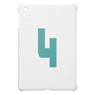 #4 Teal Bold Case For The iPad Mini