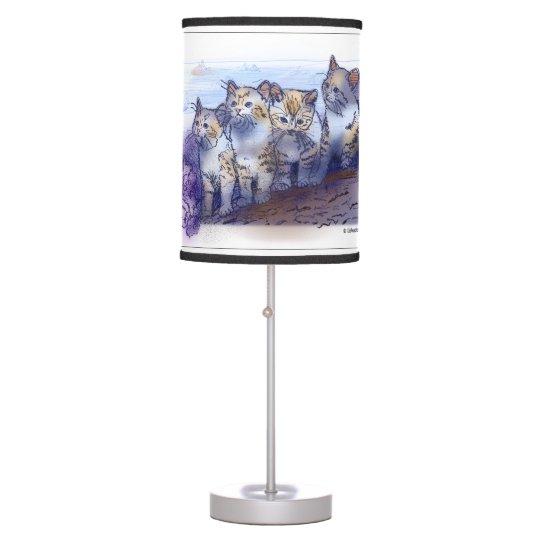 4 The Hard Way Table Lamp