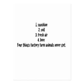 4 Things Postcard
