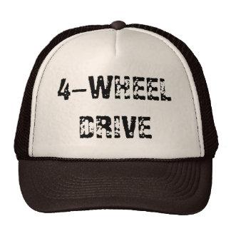 4-WHEEL DRIVE TRUCKER HAT