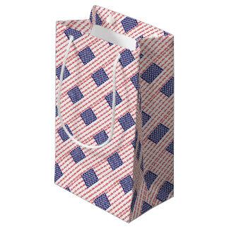4-Wheel-Flag-Final Small Gift Bag