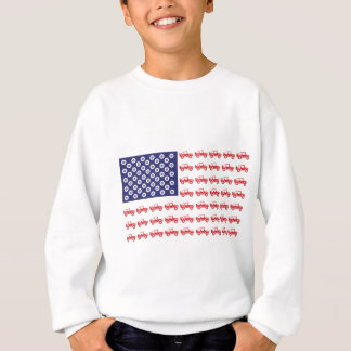 4-Wheel-Flag-Final Sweatshirt