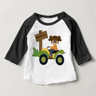 4 Wheel Fun Baby T-Shirt
