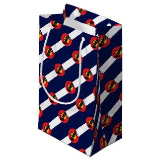 4-Wheeler-in-CO-Flag-2 Small Gift Bag
