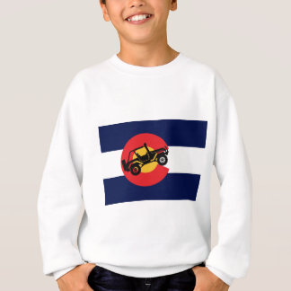 4-Wheeler-in-CO-Flag-2 Sweatshirt