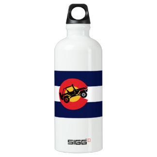 4-Wheeler-in-CO-Flag-2 Water Bottle