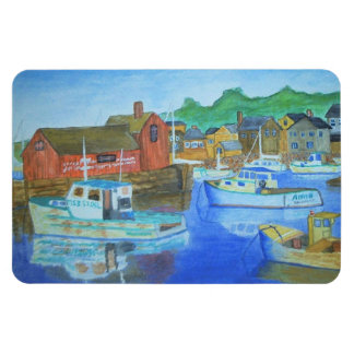 "4"" x 6"" Art Magnet - Rockport"