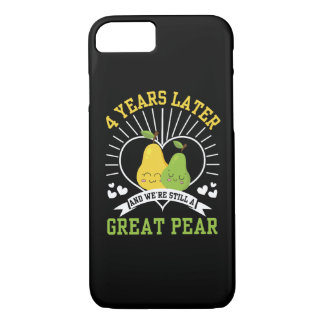 4 Years Later Were Still Great Pear Shirt Case-Mate iPhone Case