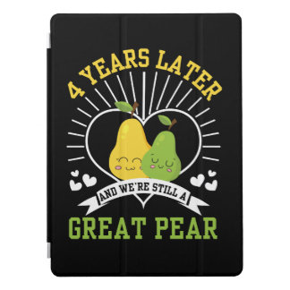 4 Years Later Were Still Great Pear Shirt iPad Pro Cover