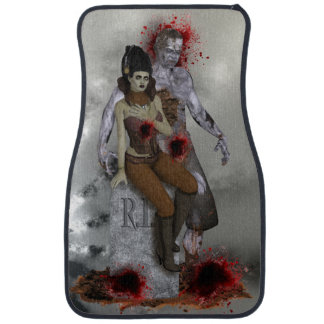 #4 Zombie Car Mats (Front) (set of 2)