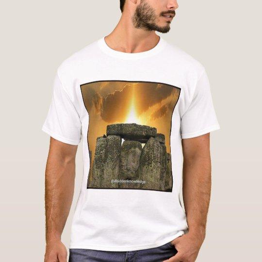 4biddenknowledge Stonehenge T-Shirt