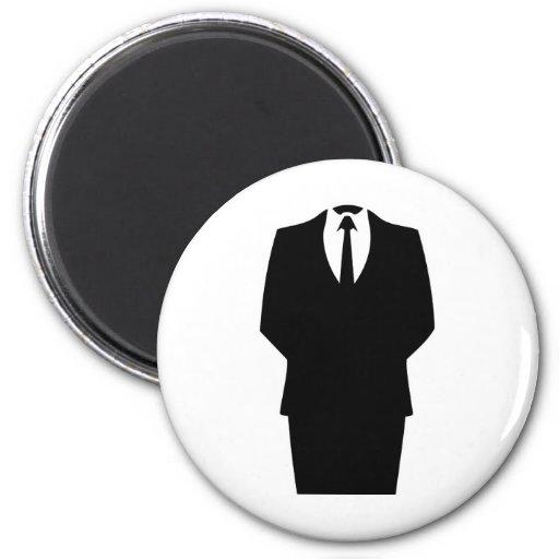 4chan anonymes SA d'Internet d'icône Magnets Pour Réfrigérateur