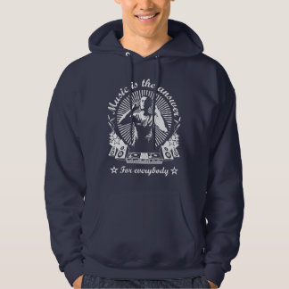 4DJS Music IS to answer Moleton Hoodie