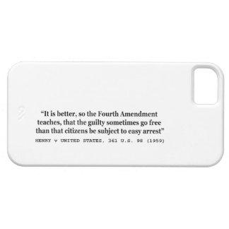 4ème amendement 1959 de HENRY v ETATS-UNIS 361 USA Coques Case-Mate iPhone 5