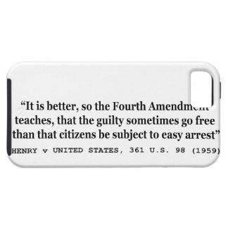 4ème amendement 1959 de HENRY v ETATS-UNIS 361 USA Étuis iPhone 5