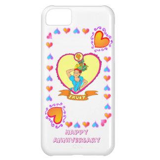 4ème anniversaire de mariage de fruit, étuis iPhone 5C