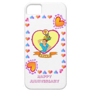 4ème anniversaire de mariage de fruit, coque iPhone 5