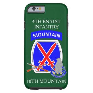 4ème Coque iphone de MONTAGNE de 31ème INFANTERIE Coque Tough iPhone 6