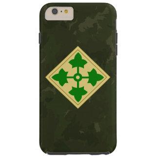 """4ème Division d'infanterie Division"""" Camo foncé Coque iPhone 6 Plus Tough"""